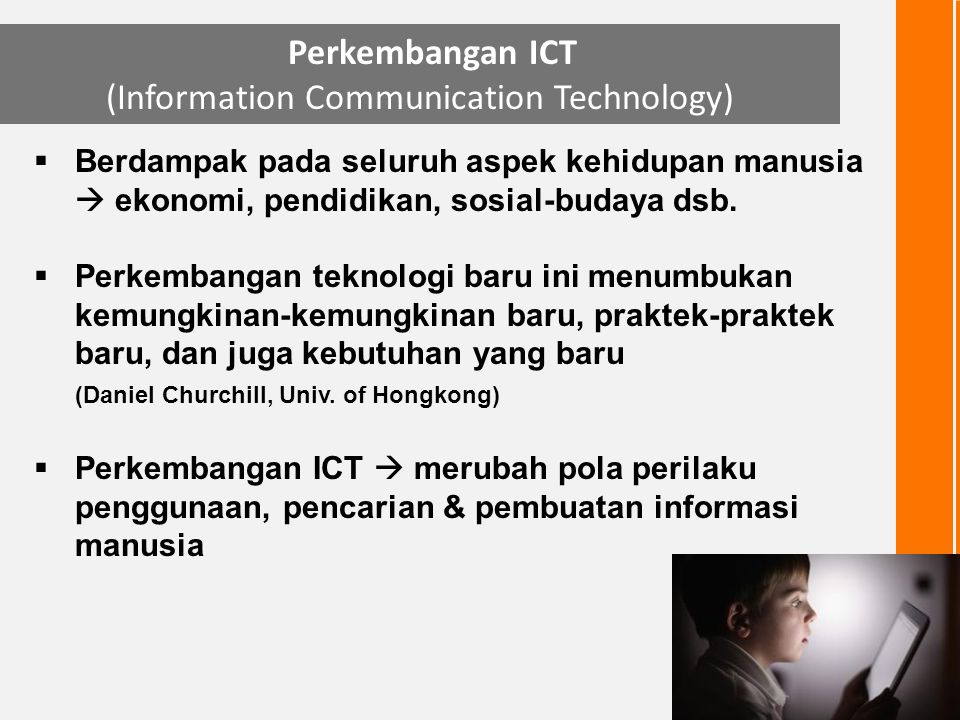 (Information Communication Technology)
