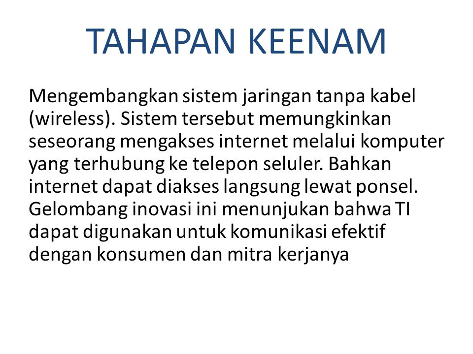 TAHAPAN KEENAM