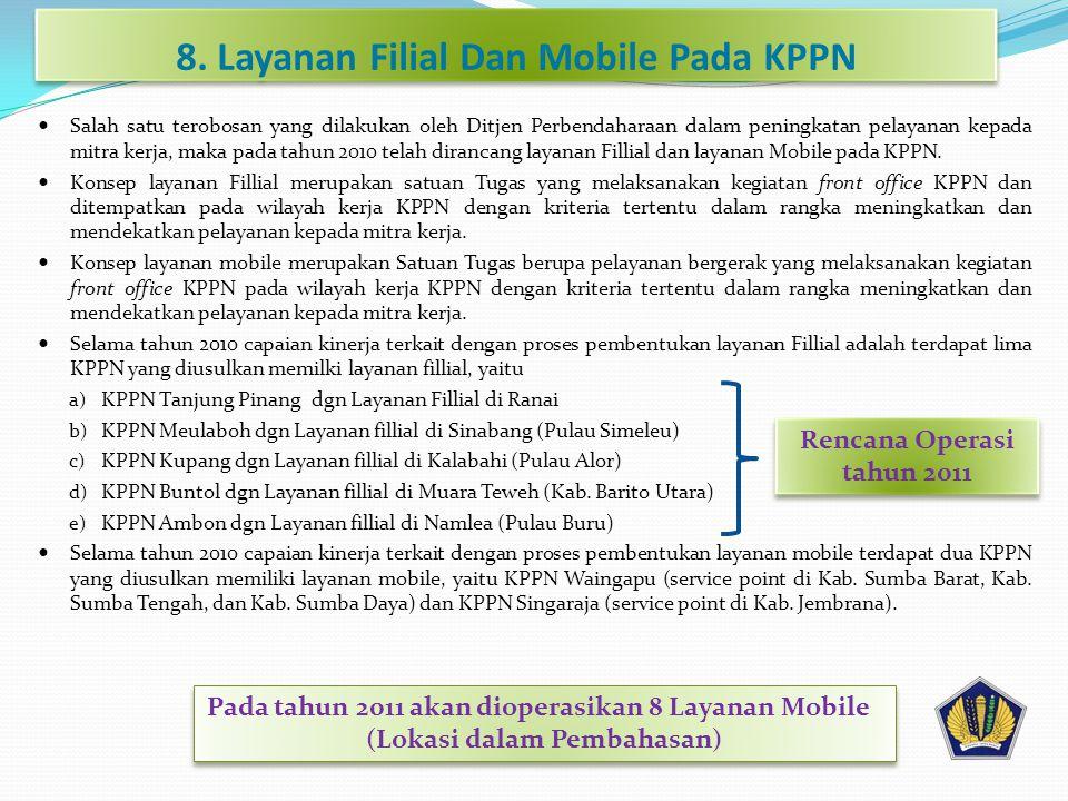 8. Layanan Filial Dan Mobile Pada KPPN