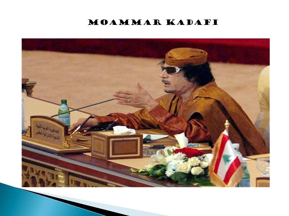 MOAMMAR KADAFI