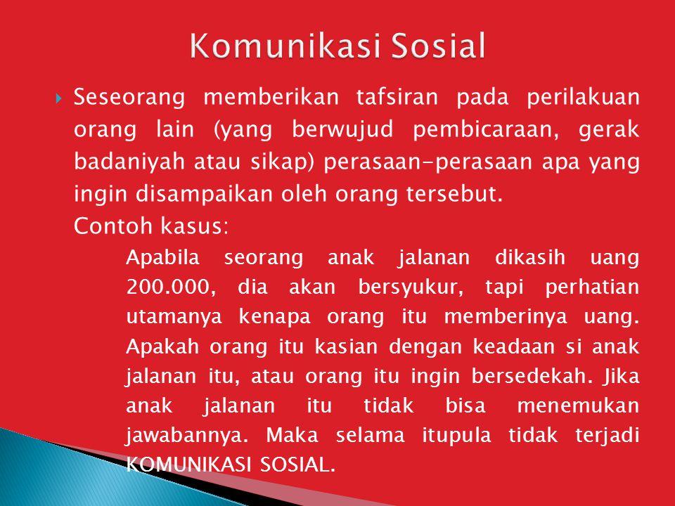 Komunikasi Sosial