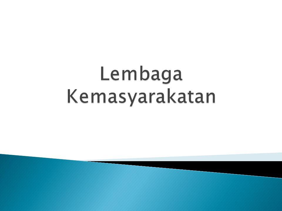Lembaga Kemasyarakatan