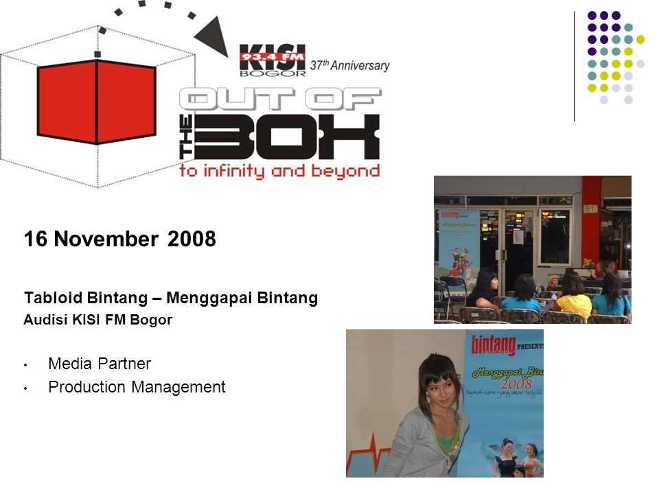 16 November 2008 Tabloid Bintang – Menggapai Bintang Media Partner