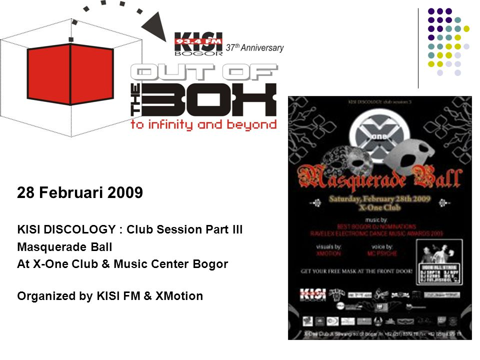 Tahun 2009 28 Februari 2009 KISI DISCOLOGY : Club Session Part III