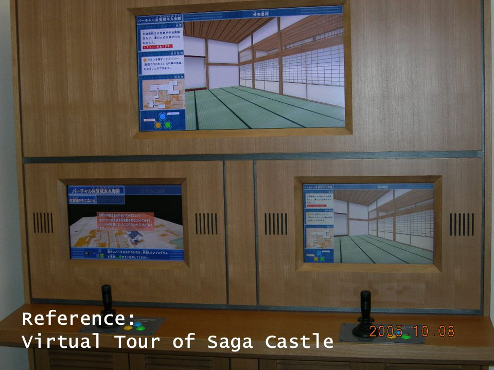 Reference Reference: Virtual Tour of Saga Castle
