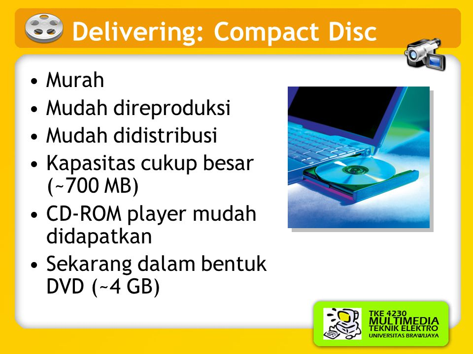 Delivering: Compact Disc