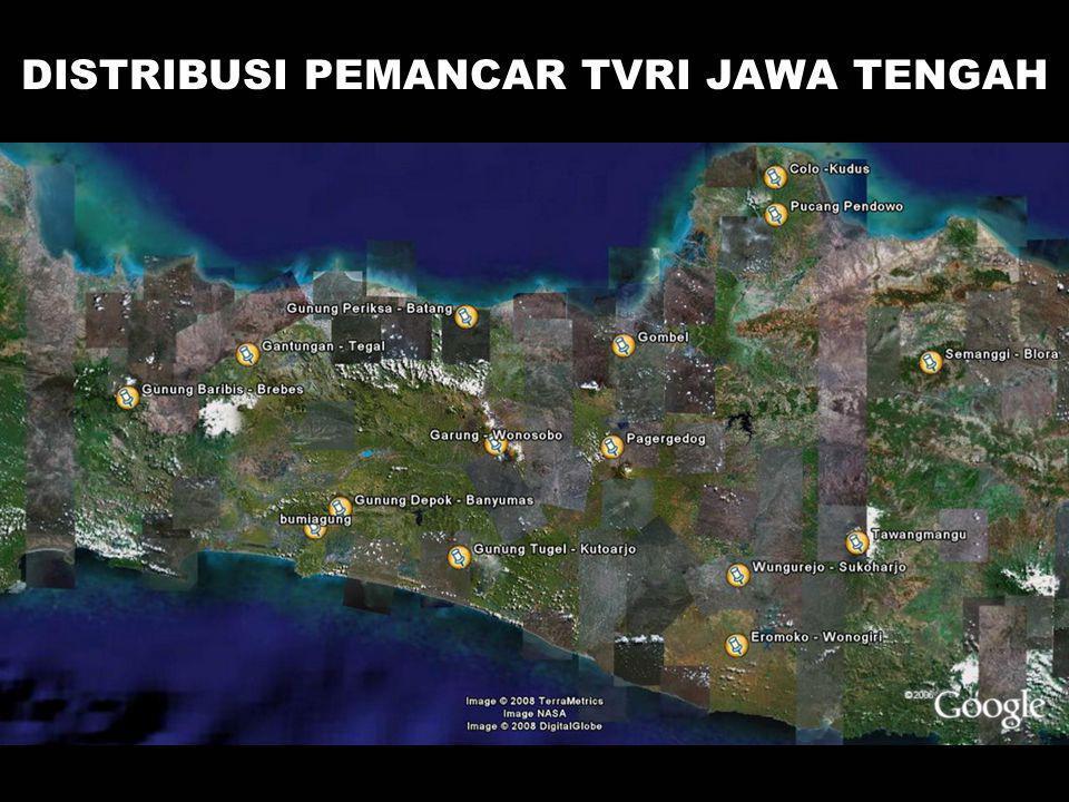 DISTRIBUSI PEMANCAR TVRI JAWA TENGAH