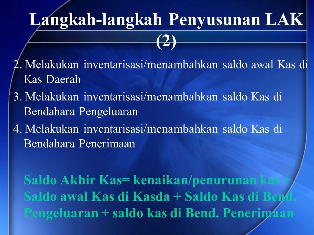 Langkah-langkah Penyusunan LAK (2)