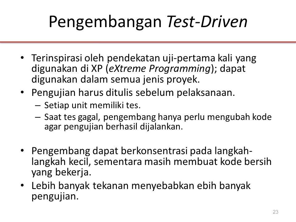 Pengembangan Test-Driven