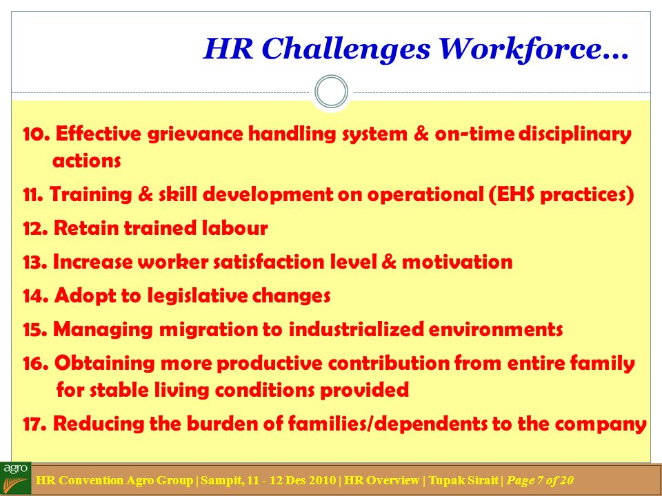 HR Challenges Workforce…