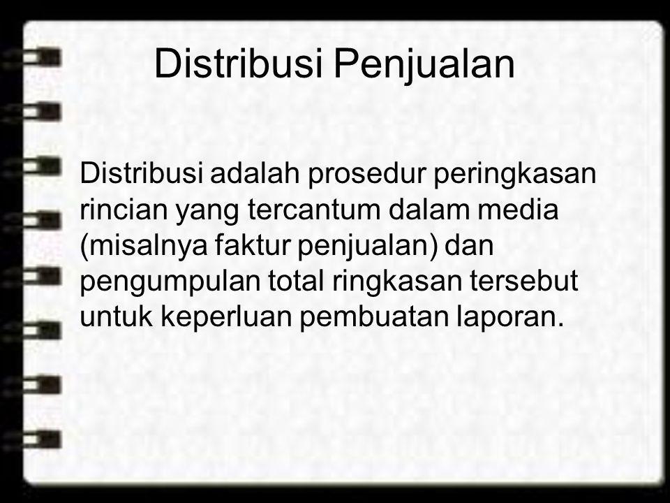 Distribusi Penjualan