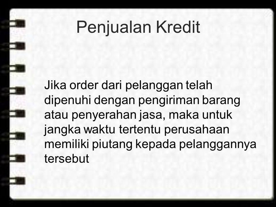 Penjualan Kredit