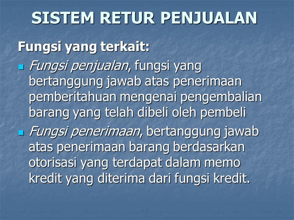 SISTEM RETUR PENJUALAN