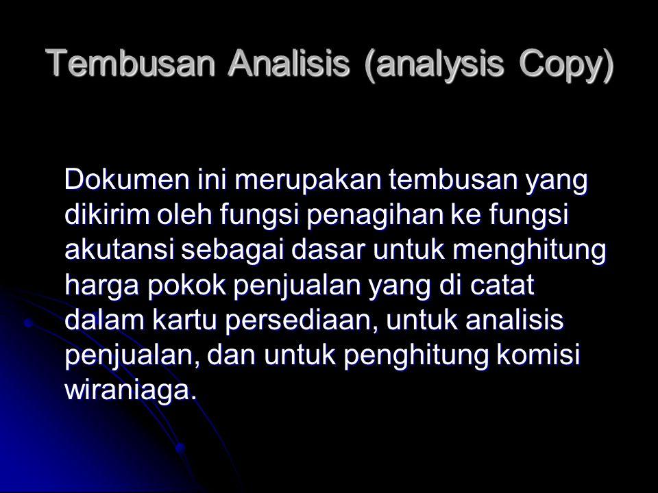 Tembusan Analisis (analysis Copy)
