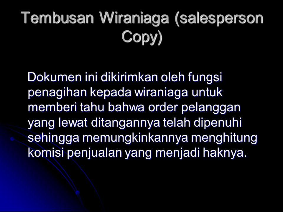 Tembusan Wiraniaga (salesperson Copy)