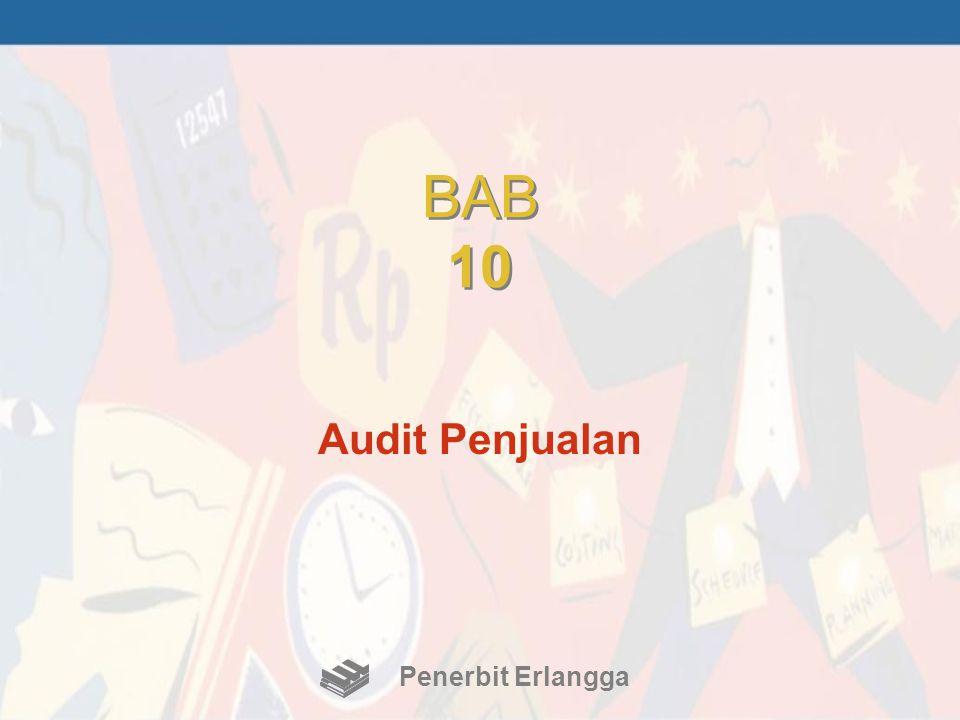 BAB 10 Audit Penjualan Penerbit Erlangga