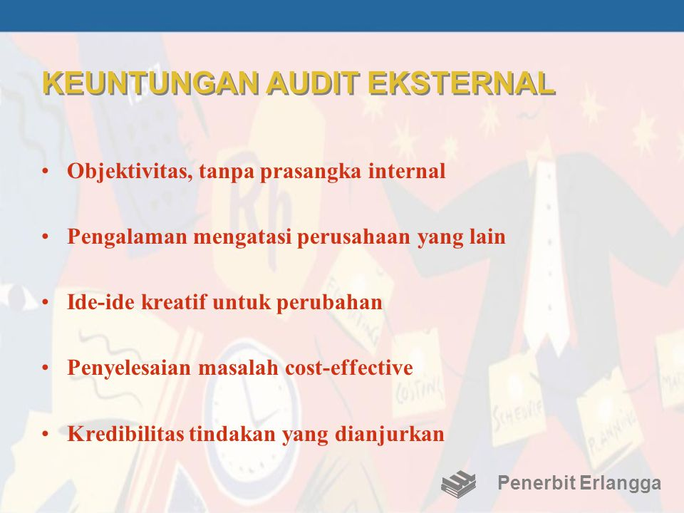 KEUNTUNGAN AUDIT EKSTERNAL