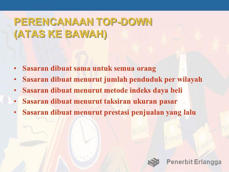 PERENCANAAN TOP-DOWN (ATAS KE BAWAH)