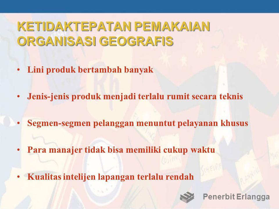 KETIDAKTEPATAN PEMAKAIAN ORGANISASI GEOGRAFIS