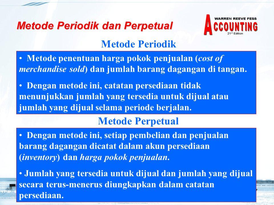 Metode Periodik dan Perpetual