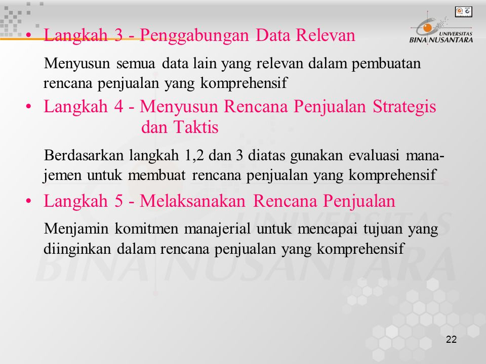 Langkah 3 - Penggabungan Data Relevan