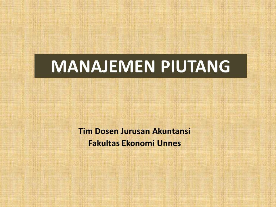 Tim Dosen Jurusan Akuntansi Fakultas Ekonomi Unnes