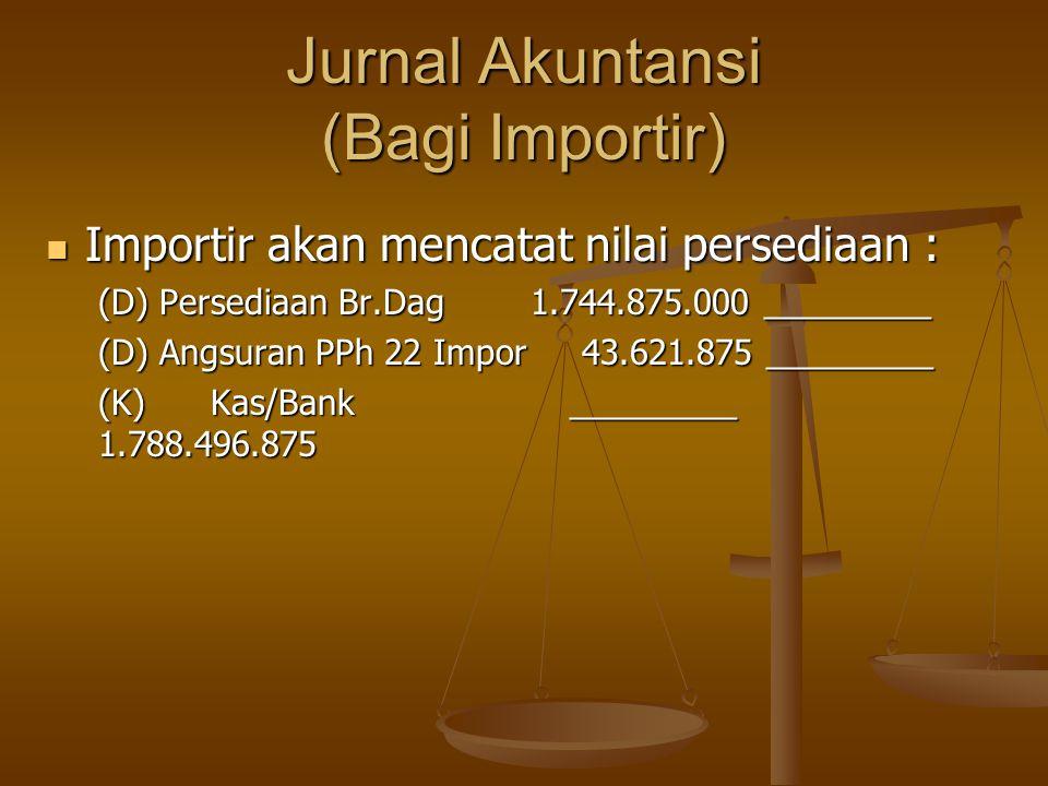 Jurnal Akuntansi (Bagi Importir)