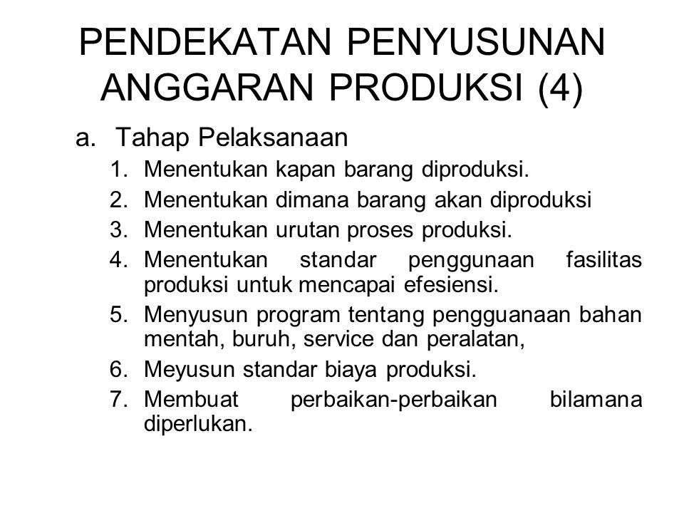 PENDEKATAN PENYUSUNAN ANGGARAN PRODUKSI (4)