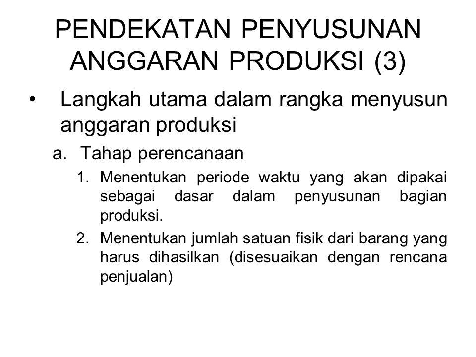 PENDEKATAN PENYUSUNAN ANGGARAN PRODUKSI (3)