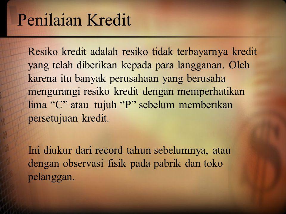 Penilaian Kredit
