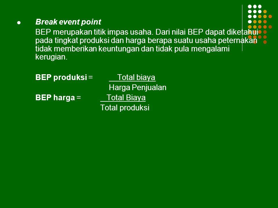 Break event point