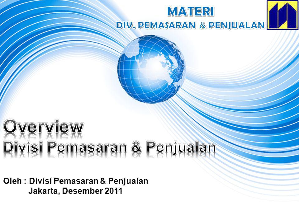 Overview Divisi Pemasaran & Penjualan