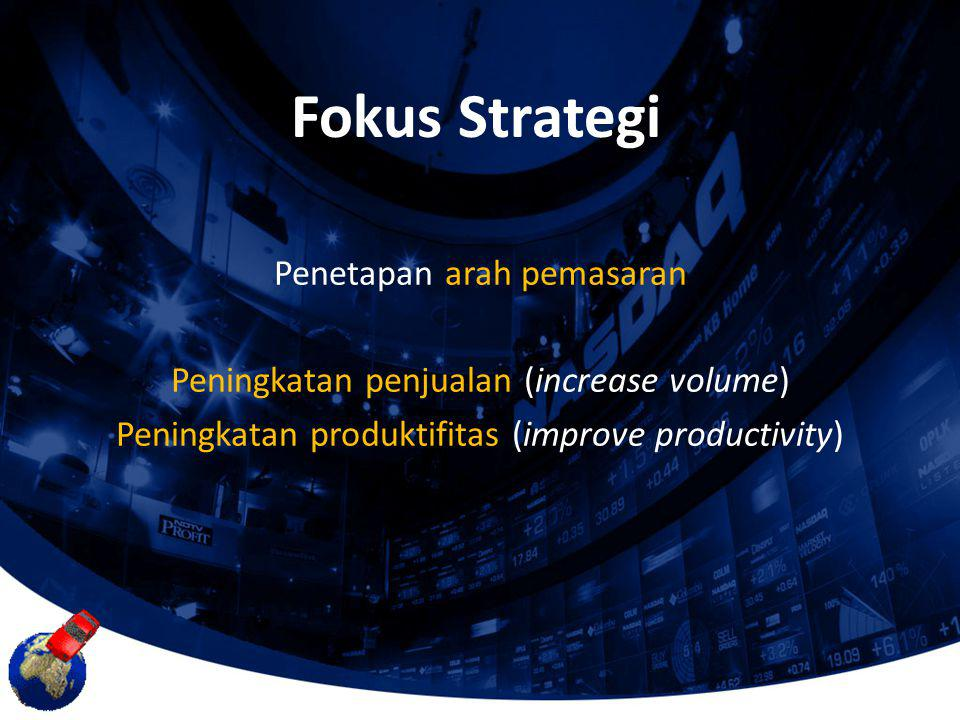 Fokus Strategi Penetapan arah pemasaran