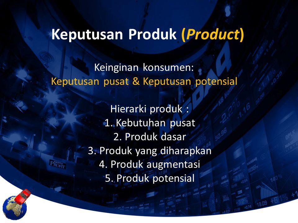 Keputusan Produk (Product)
