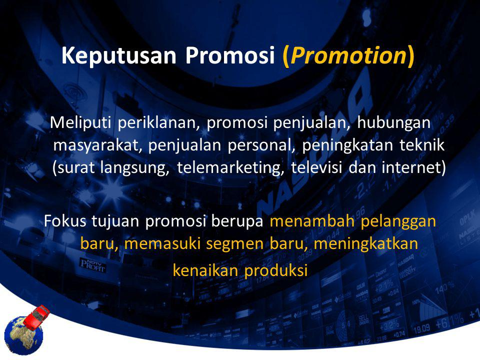 Keputusan Promosi (Promotion)