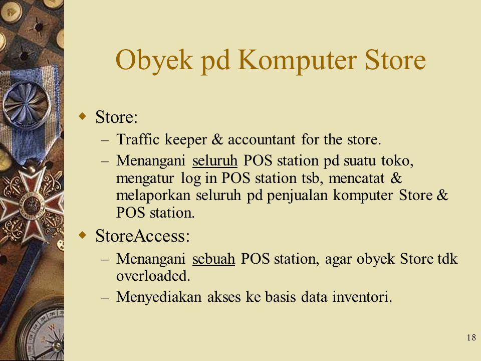 Obyek pd Komputer Store