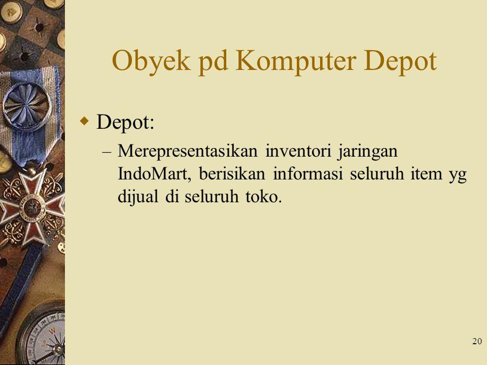 Obyek pd Komputer Depot