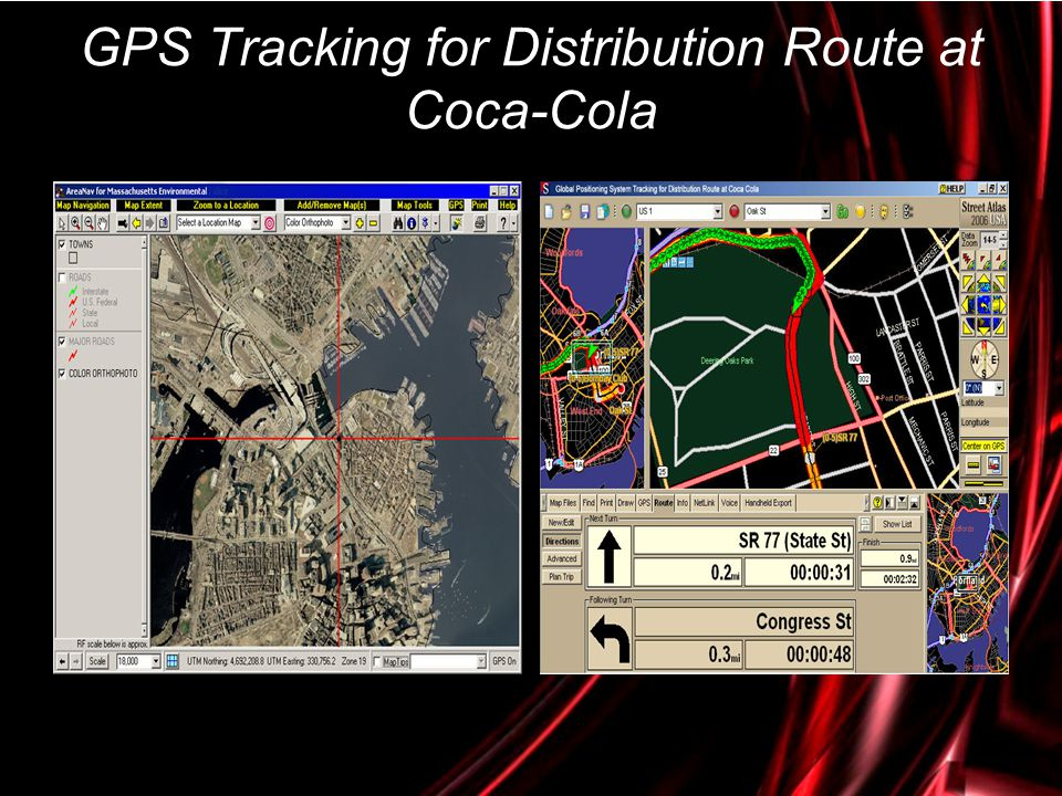 GPS Tracking for Distribution Route at Coca-Cola