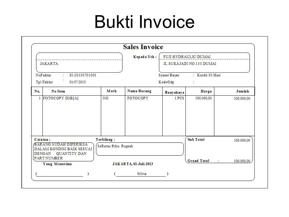 Bukti Invoice