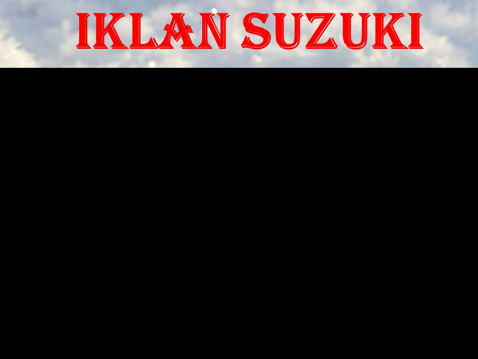 Iklan suzuki