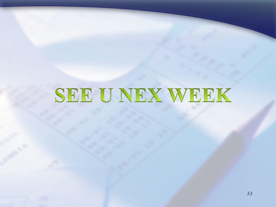 SEE U NEX WEEK
