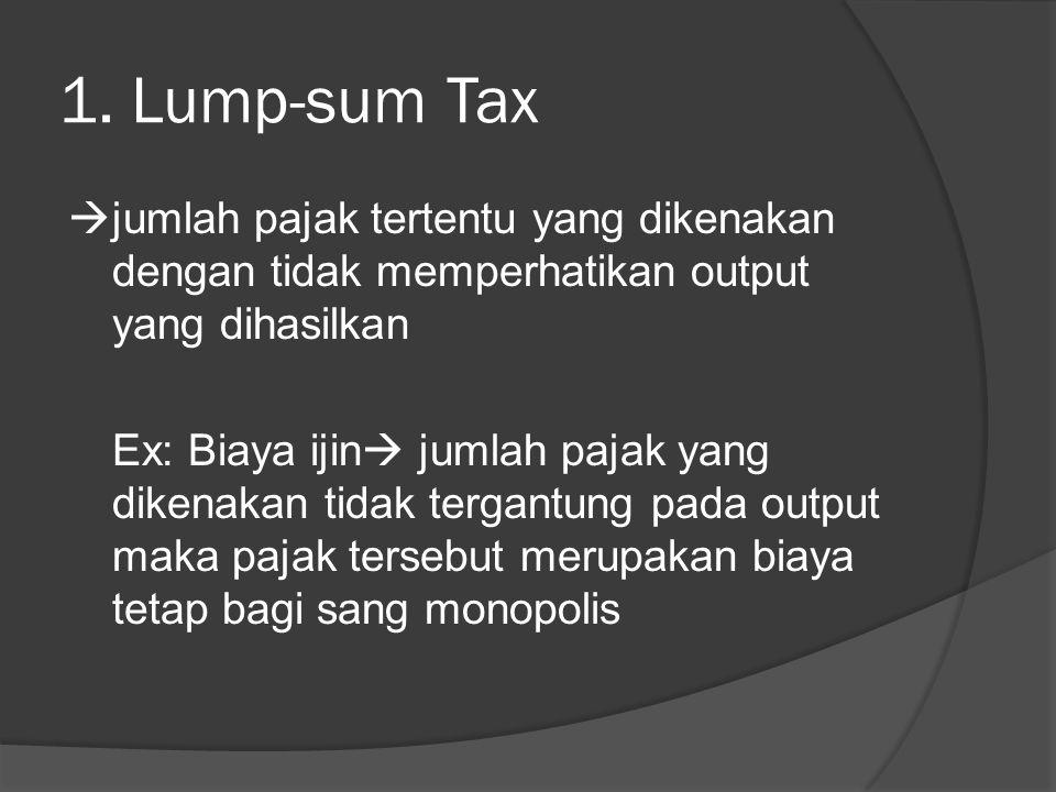 1. Lump-sum Tax