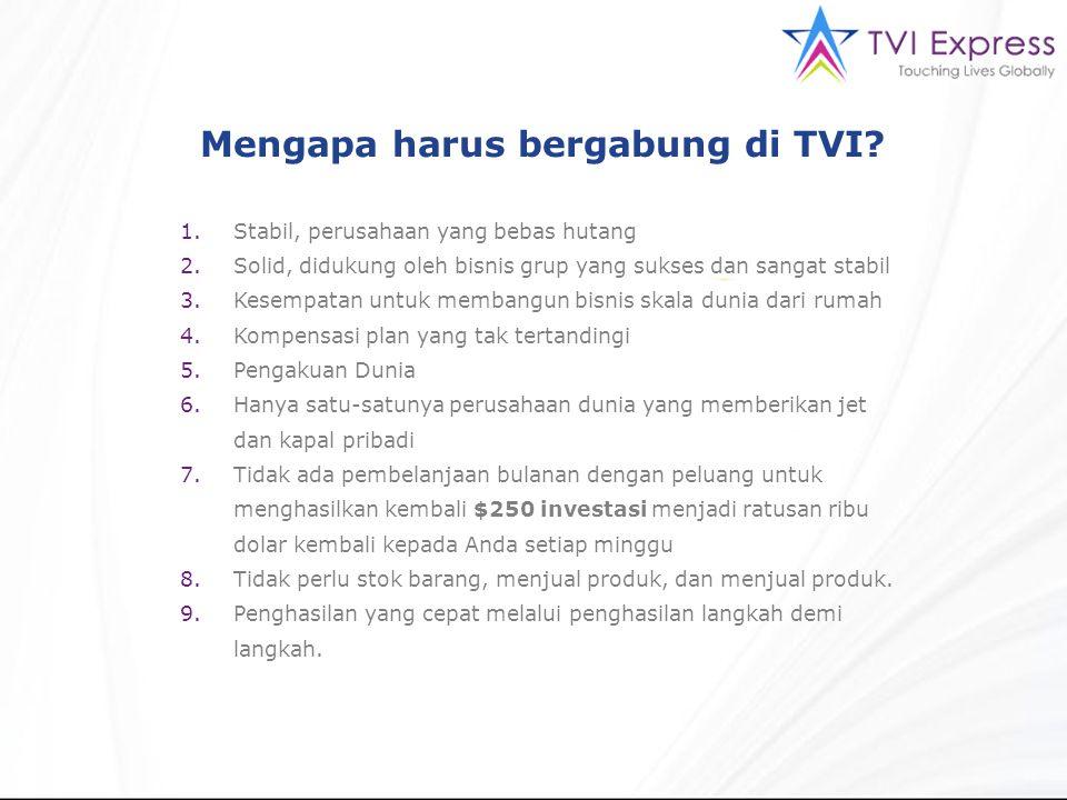 Mengapa harus bergabung di TVI