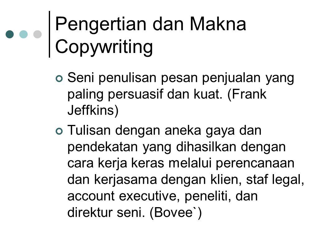 Pengertian dan Makna Copywriting