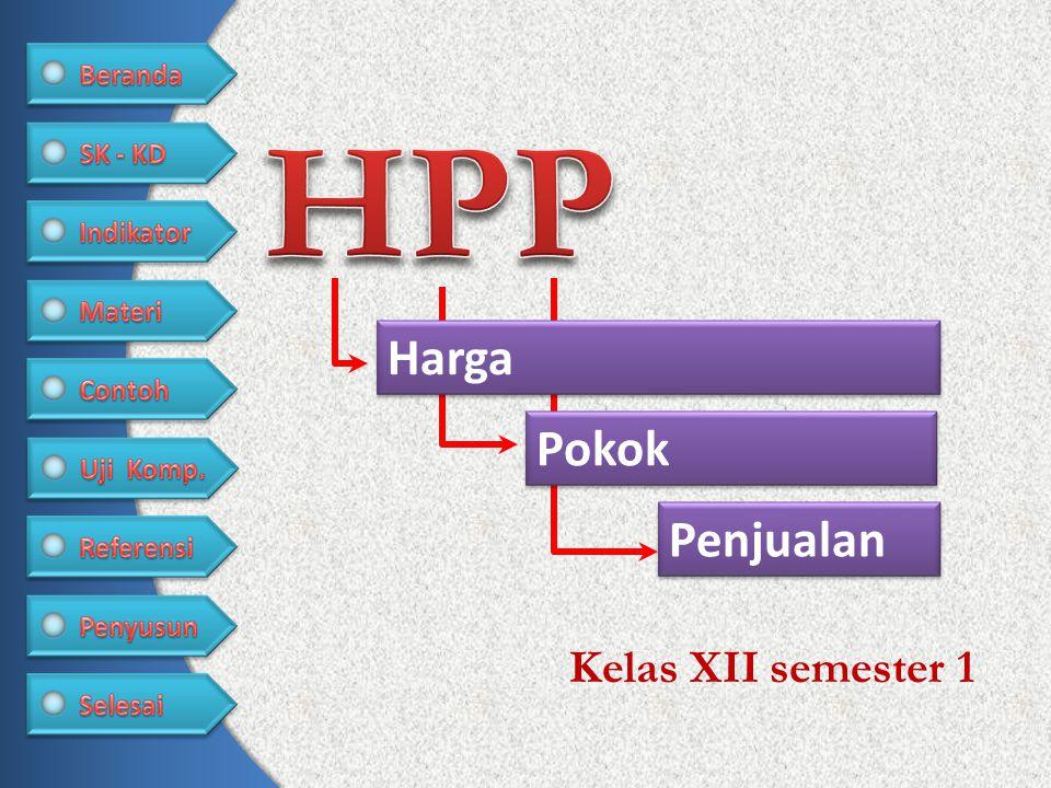 HPP Harga Pokok Penjualan Kelas XII semester 1