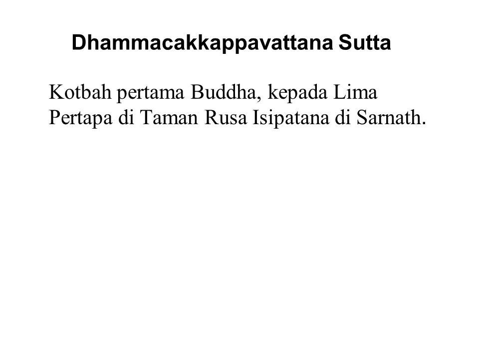 Dhammacakkappavattana Sutta
