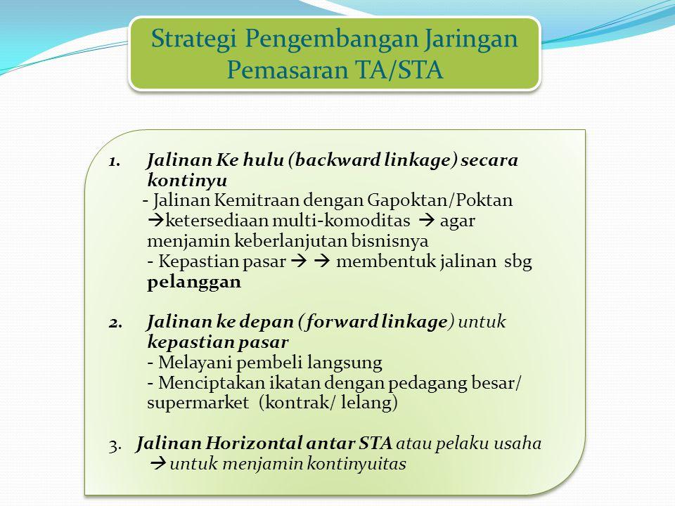 Strategi Pengembangan Jaringan Pemasaran TA/STA