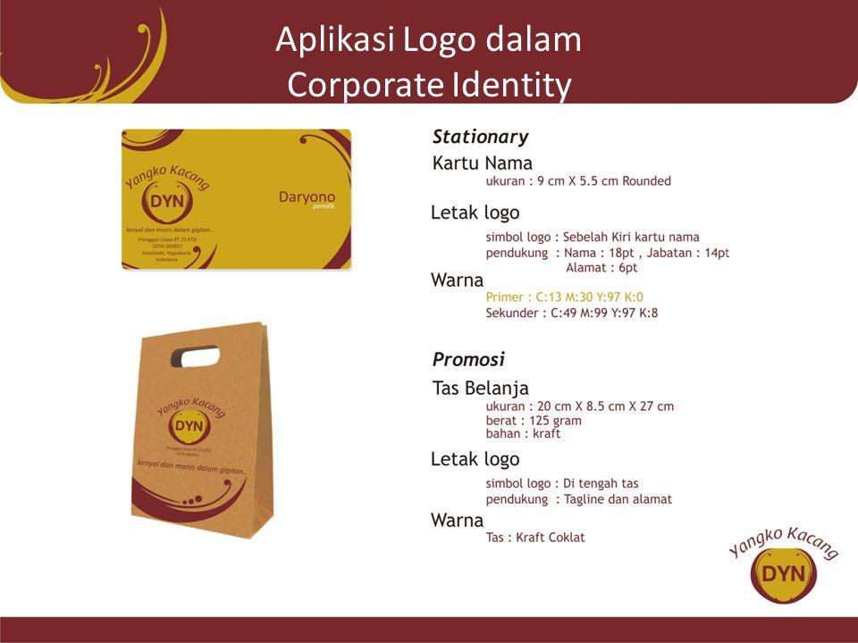 Aplikasi Logo dalam Corporate Identity