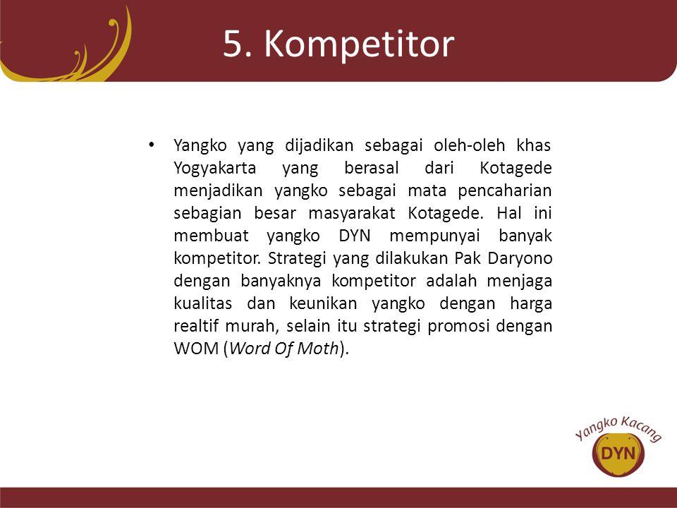 5. Kompetitor