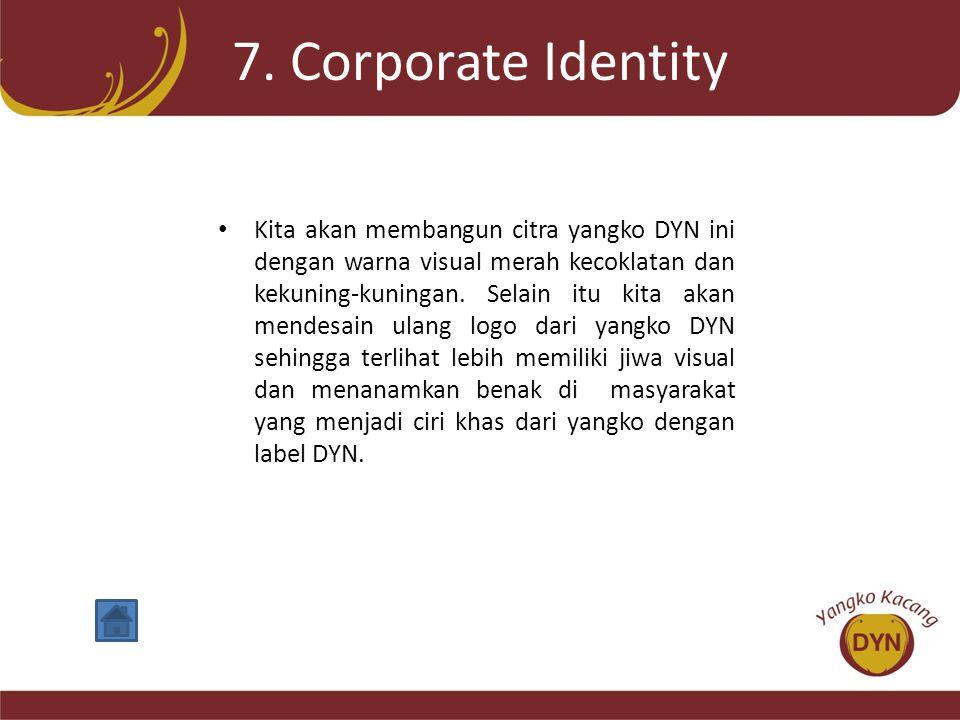 7. Corporate Identity
